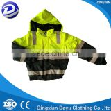 high quality reflective strip safety jacket