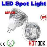 Cheap price! MR16 3W spotlight 12VLED High power LED Spot Lights