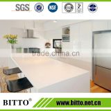 High quality white acrylic solid surface table bar kitchen top
