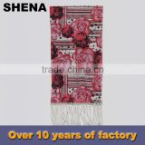 shena fashion chinese digital print custom design silk scarf for sale