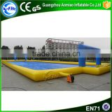 Funny inflatable water soccer arena mini inflatable soccer field for family