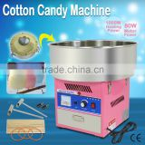 220V Home LED Music Pink Cotton Candy Maker Carnival Commercial Floss Machine Candy Maker