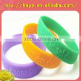 Popular custom silicone wristband