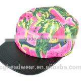 hot sale direct factory unisex fashion 5 panel hat/ snapback hat/ 5 panel hat sewing pattern