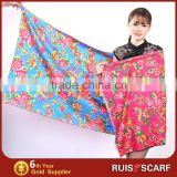 2015 custom digital printed silk beach scarves custom silk beach scarf printing                                                                         Quality Choice