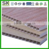 light weight hollow honeycomb decorative pvc ceiling panel