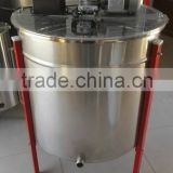 Hot sale 8 frame horizontal motor stainless steel honey extractor for beekeeping honey extraction machine