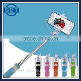 Portable Mini Folding Self-Adjustable Stand Wire Rod Of Stainless Steel Button Self-Stick