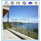6.38mm 8.38mm 10.38mm tempered laminated safety balcony glass laminated safety fence balcony glass price for building
