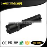 Onlystar GS-9065 aluminum alloy head torch q5 flashlight powerful long distance led light zoom lenser led torches