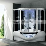 Glass massage shower panels ceiling fan shower radio G160I
