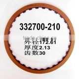 ATX 722.6 Automatic Transmission 332700-210 friction disc Gearbox automotive part clutch friction plate