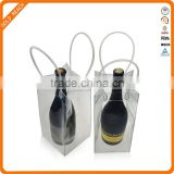 PVC Material and Wine Ice Use PVC Handy Bag
