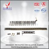 elevator part rollers wheels step chain for escalator replacement parts                                                                                                         Supplier's Choice