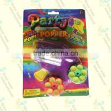 platic bullet toy gun,confetti party popper gun