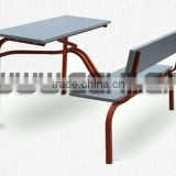 School desk and bench/Student bench desk/Study desk and bench/Classroom furniture