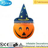 DJ-114 4FT Pumpkin with hat inflatable christmas hallween decoration mushrooms snow globe tree