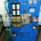 Brass and aluminium tube welder