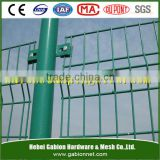 Power coated 3D welded wire mesh garden fence discount sale