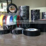 Premium Quality Matt / Glossy Rubber based adhesive PVC Electrical Insulation Tape in colors for wrap sealing