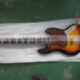 5 string bass guitar jazz style red pickguard rosewood fingerboard factory directly supply