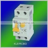 Single phase 2 pole Residual Current device and breaking operating (RCCB, ELCB,RCD,RCBO)