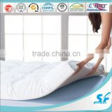 waterproof bamboo mattress down microfiber king size foam mattress topper