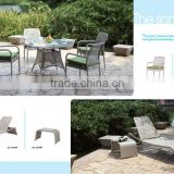 Outdoor wicker furniture restaurant chairs and table!,factory reasonable price and hot sale!!