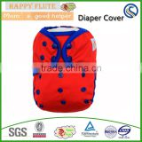 2016 Happy flute newborn baby cloth diaper cover, one size fits all, washable reusable plastic nappy, wholesale China                                                                         Quality Choice