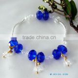 Small Tassel Latest new design crystal beads bracelet                                                                                                         Supplier's Choice