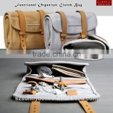 Portable Canvas Functional Organizer Bag For Mobile Phone, Camera & Accessories                                                                         Quality Choice