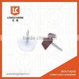 plastic teflon furniture glides for chair