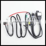 H4 Bi-xenon HID Xenon Light Relay harness H4 Hi/Low HB2 9003 HID strengthen cables for H4 HID headlight bulbs