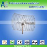 1920-2170MHz 18dBi Directional Grid Parabolic Antenna 3G communications(Factory)