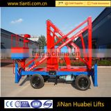 Famous brand truck mounted boom lift 360 degreed electric work articulated lift platform