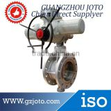 PN6~PN40 cheapest PTFE sealing Stainless steel motorized butterfly valve