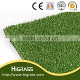 synthetic grass used for both tennis and badminton courts