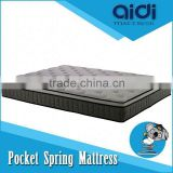 Modern Bedroom Furniture Polyurethane Foam Bamboo Pillow Top Pocket Spring Mattress AC-1403