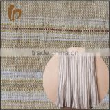 yarn dyeing linen metallic fabric with lurex with 6% polyester