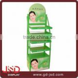 Factory prcie Free standing Shopping mall skin care metal display stand