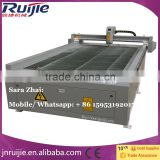 Best price China plasma cutting machine,1300*2500mm plasma cutting table cnc plasma cutter for metal
