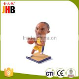 Hot Sale Resin Sport Figurine Bobble Head