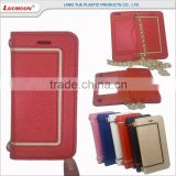 leather wallet with diamond phone case cover bag for xiaomi redmi note prime mi 4c media tek