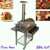 Charcoal Burner Barbecue BBQ Grill Pizza Oven