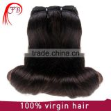 100% unprocessed virgin hair weaving magic wave hair mongolian human hair