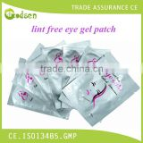 factory private label salon professionals wholesale adhesive lint free eye gel patch for eyelash extensions