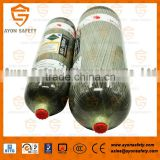 Carbon fiber composite cylinder cylinder/Air cylinder/tank military Made in China with 3L/6.8L/9L for SCBA