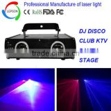 red +blue+double head laser light for night club