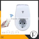 Wi-Fi Smart Socket Outlet Plug Turn ON/OFF Electronics from Anywhere