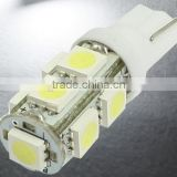 RV LED Light interior lamp 12V DC SMD5050 lighting T10 168 LED Wedge Car LED Map Dome License Plate Bulb